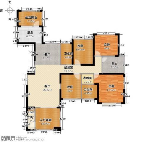 联诚国际城4室0厅2卫0厨169.00㎡户型图