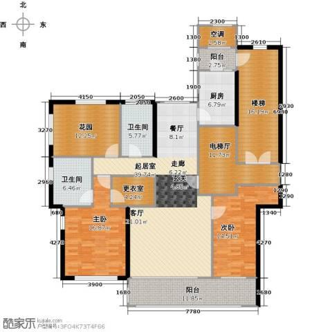 君熙太和2室0厅2卫1厨156.00㎡户型图
