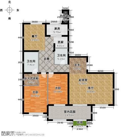 东岸国际2室0厅2卫1厨220.00㎡户型图