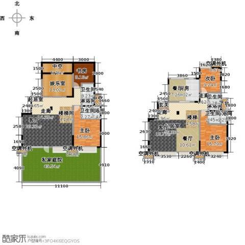 华发新城4室0厅4卫1厨246.21㎡户型图