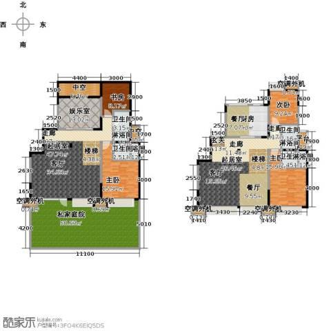 华发新城4室0厅4卫1厨247.61㎡户型图