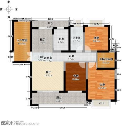海景城3室0厅1卫1厨119.00㎡户型图