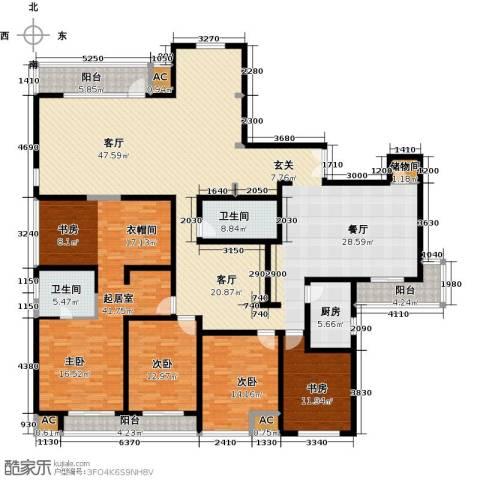 证大多伦多花园3室1厅1卫1厨312.00㎡户型图