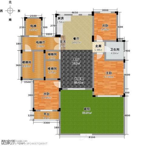 阳光地中海3室0厅1卫0厨150.75㎡户型图