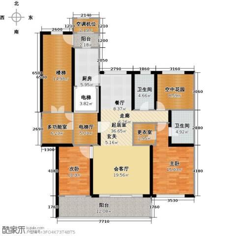 君熙太和2室0厅2卫1厨150.00㎡户型图