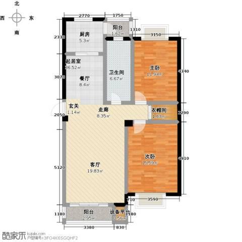 美树日记2室0厅1卫1厨120.00㎡户型图