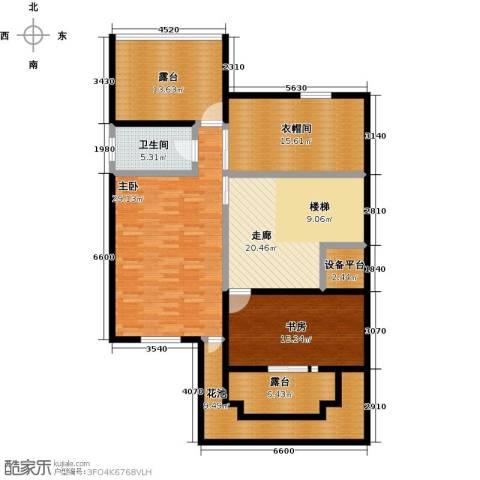 龙湖庄园2室0厅1卫0厨117.74㎡户型图