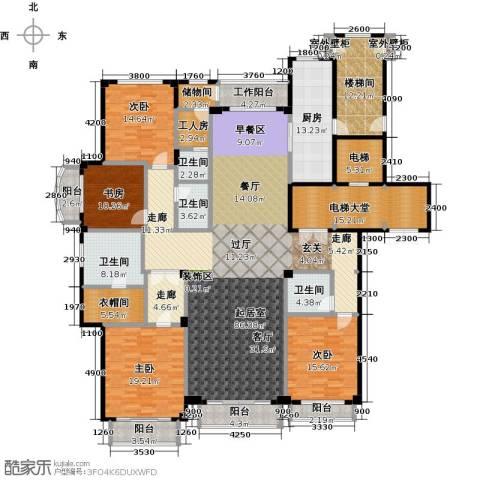 亿锋8号4室0厅4卫1厨275.62㎡户型图