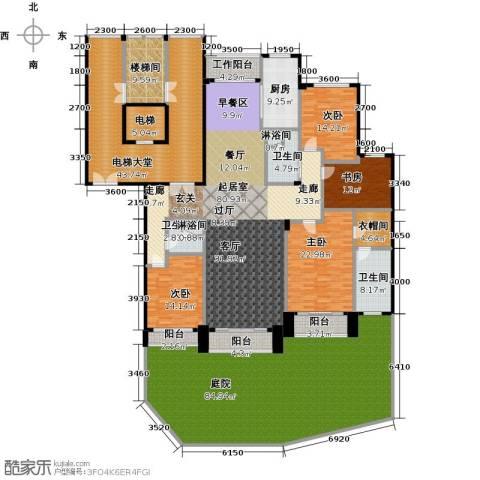 亿锋8号4室0厅3卫1厨370.32㎡户型图