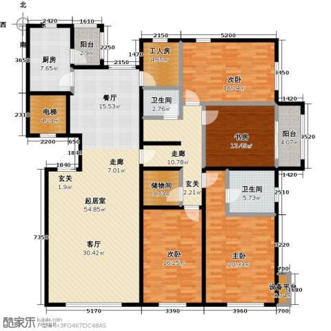 亿利城・滨河湾4室0厅2卫1厨199.00㎡户型图