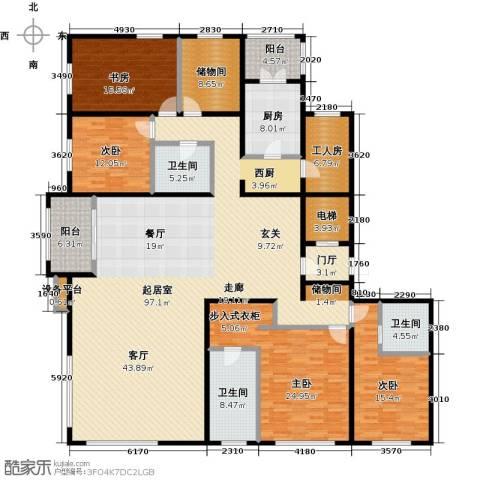 亿利城・滨河湾4室0厅3卫1厨278.00㎡户型图