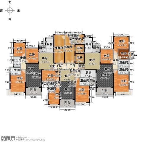 恒大绿洲9室0厅6卫3厨509.00㎡户型图