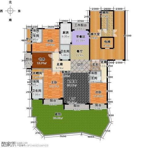 亿锋8号4室0厅4卫1厨394.97㎡户型图
