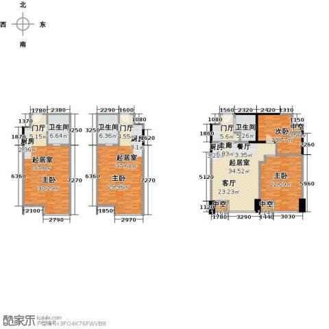 第六田园独立日2室0厅3卫0厨240.00㎡户型图