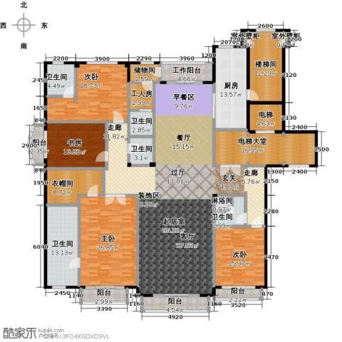 亿锋8号4室0厅5卫1厨310.76㎡户型图