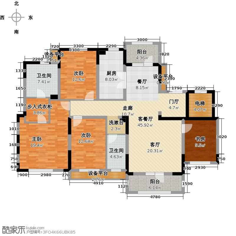 新地阿尔法国际社区164.69㎡新地阿尔法国际社区164.69㎡户型10室