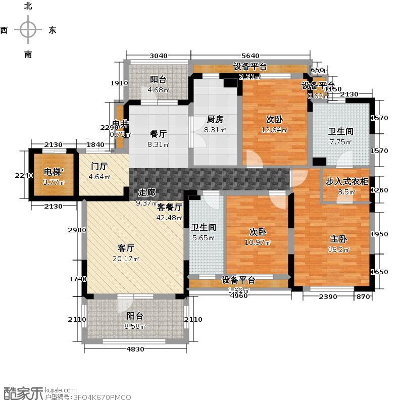 新地阿尔法国际社区151.94㎡新地阿尔法国际社区151.94㎡户型10室