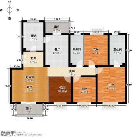 2U・香花畦4室0厅2卫1厨178.00㎡户型图