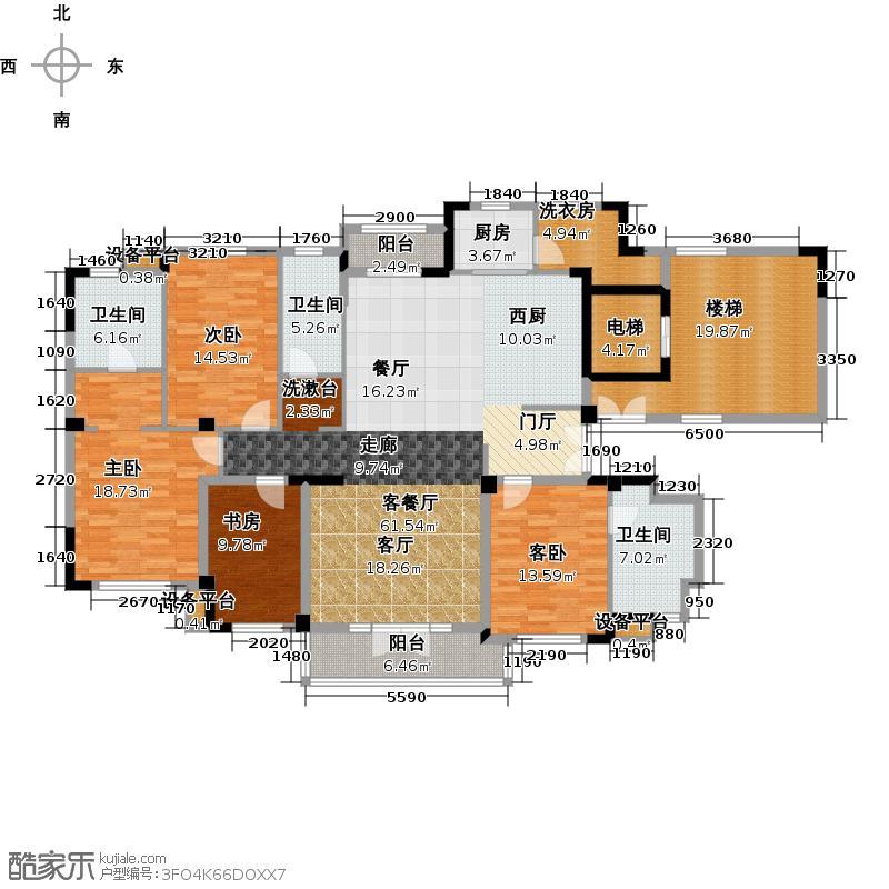 新地阿尔法国际社区192.84㎡新地阿尔法国际社区192.84㎡户型10室