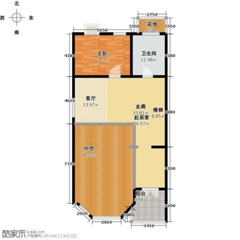 金水湾贵园三期1室0厅1卫0厨208.00㎡户型图