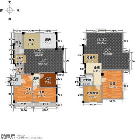 枫丹丽舍4室0厅2卫0厨181.05㎡户型图