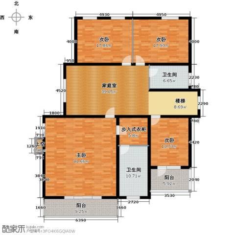 蟠龙山水三期4室0厅2卫0厨235.00㎡户型图