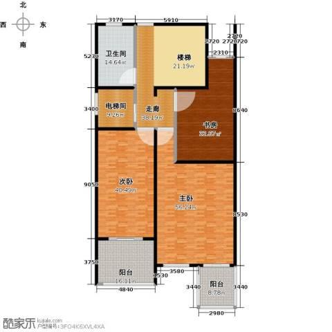金水湾贵园三期3室0厅1卫0厨298.00㎡户型图