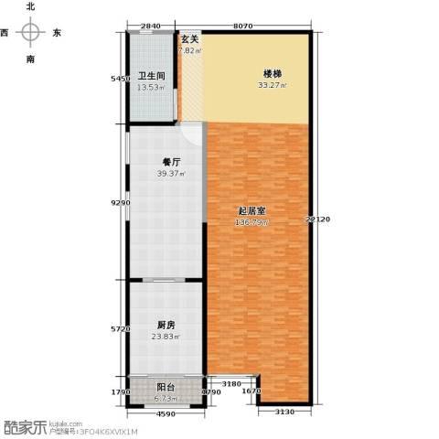 金水湾贵园三期1厅1卫1厨296.00㎡户型图