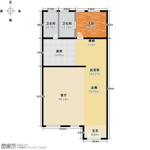 金水湾贵园三期1室0厅2卫0厨278.00㎡户型图