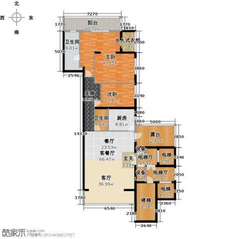 融泽府2室1厅2卫1厨210.00㎡户型图