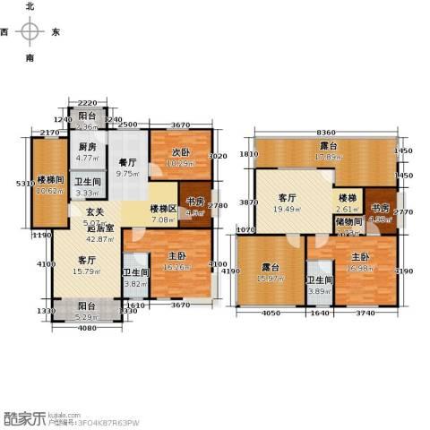 蓝调沙龙5室1厅3卫1厨203.00㎡户型图