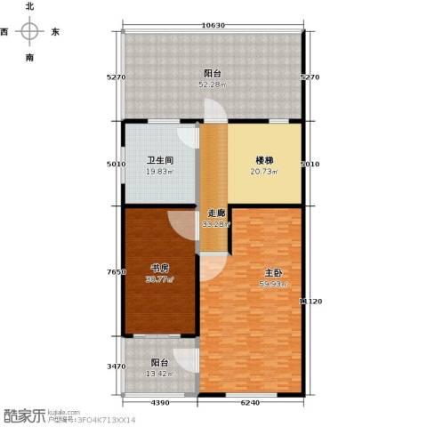 金水湾贵园三期2室0厅1卫0厨284.00㎡户型图