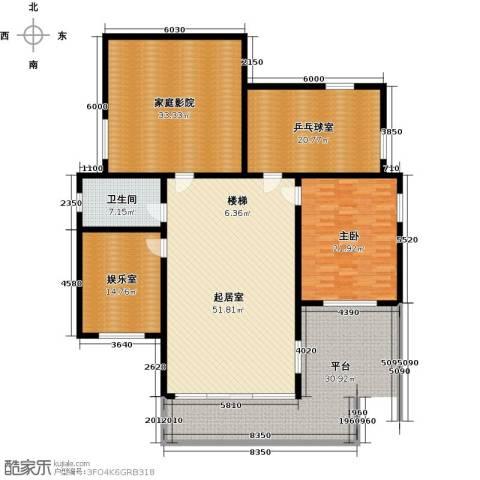 蟠龙山水三期1室0厅1卫0厨205.00㎡户型图