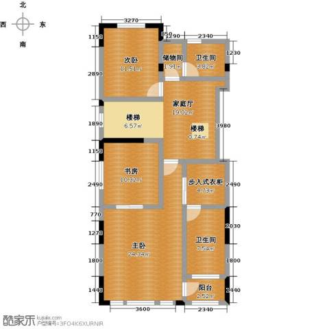 天保美墅林3室0厅2卫0厨426.00㎡户型图