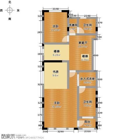 天保美墅林2室0厅2卫0厨368.00㎡户型图