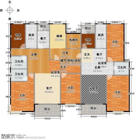 瑞恒水岸新城6室1厅3卫2厨321.00㎡户型图