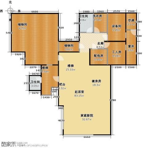 香山清琴2卫0厨182.85㎡户型图
