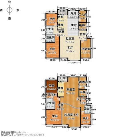 亿利城・滨河湾4室0厅4卫1厨338.00㎡户型图