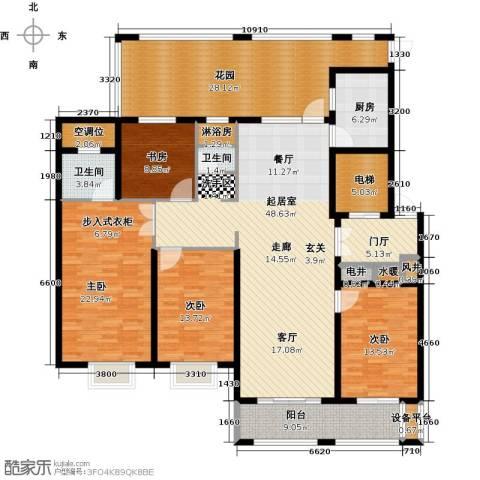 德州星凯国际广场4室0厅2卫1厨245.00㎡户型图