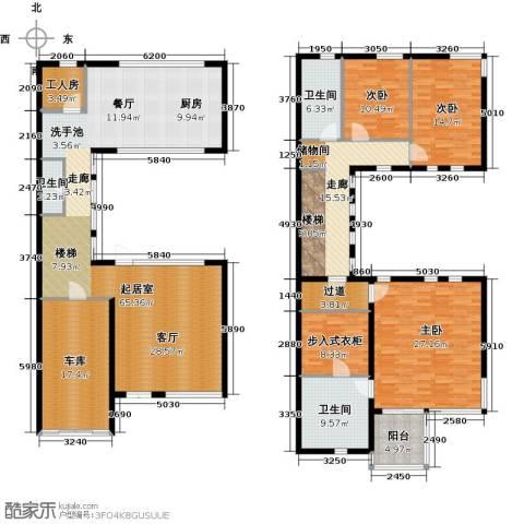 水墨庭院3室0厅3卫0厨230.00㎡户型图