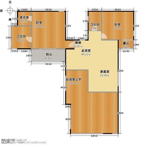 香山清琴2卫0厨168.37㎡户型图