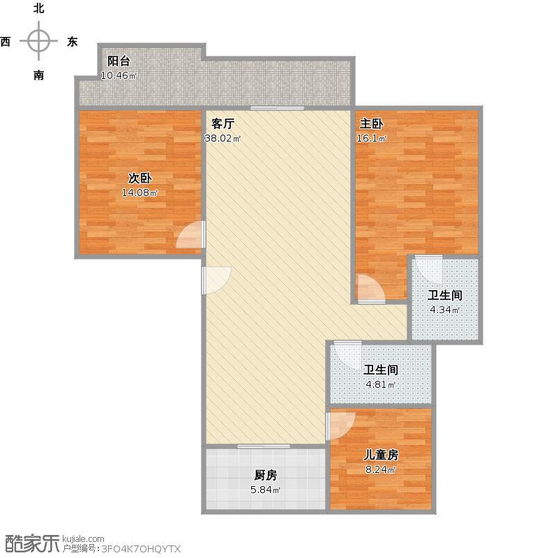 文昌楼三室两厅两卫