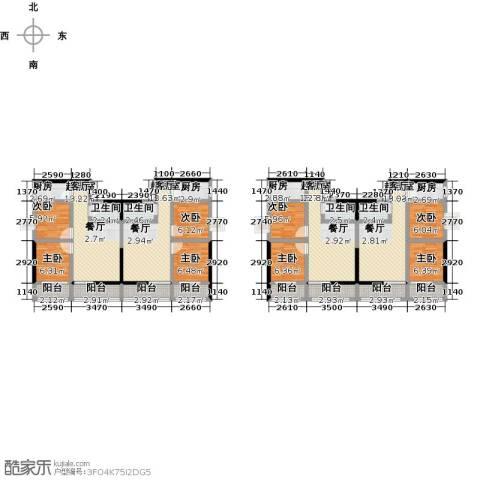世贸大厦二期8室0厅4卫4厨186.00㎡户型图