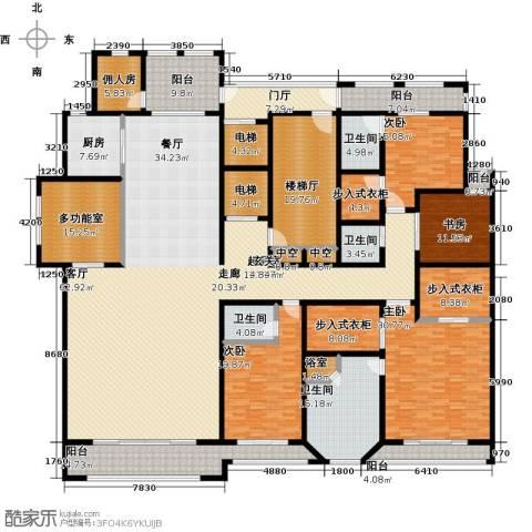 巨凝金水岸4室0厅4卫1厨400.00㎡户型图