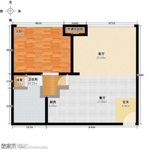 新世界・名泷1室0厅1卫0厨108.00㎡户型图