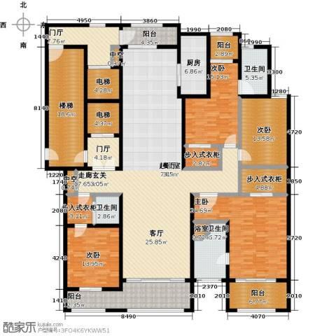 巨凝金水岸4室0厅3卫1厨280.00㎡户型图
