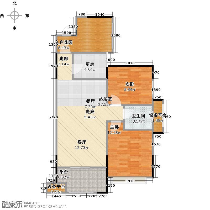 领东汇85.50㎡2+1户型两房变三房,户型全面采光,明厨明卫,紧凑实用;客厅、餐厅融会贯通,阳光舒适;双阳台,半赠送面积;卧室全飘窗设计,延伸卧室空间。户型2室2厅1卫