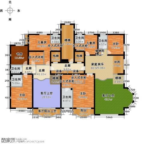 亚太国际公馆6室0厅6卫0厨461.00㎡户型图