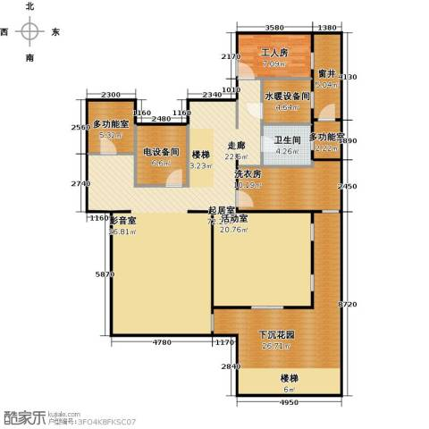 香山清琴1卫0厨150.00㎡户型图