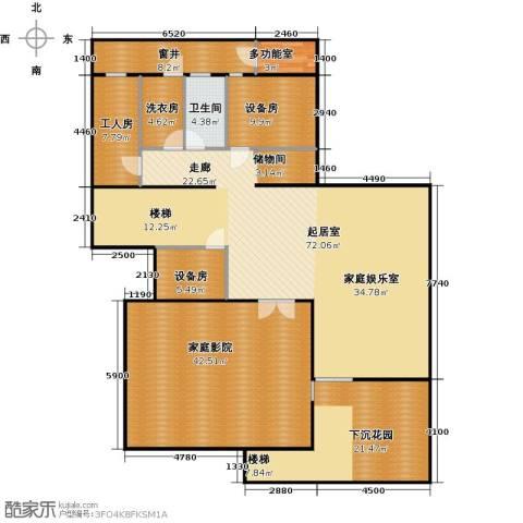 香山清琴1卫0厨179.41㎡户型图